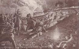 CP Guerre 14 Grande Attaque De Nuit De La Ferme Du Choléra Septembre 1914 Hingre - War 1914-18