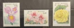 Belgium 2000. Flowers. Stamp Set. MNH - Flora