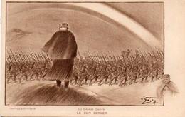 CPA Guerre 14 Grande Le Bon Berger Pétain - War 1914-18