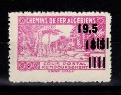 Algerie - Variete Colis Postaux N** Luxe YV 179 Sans Surcharge Contrôle - Paquetes Postales