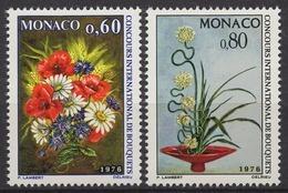 MONACO 1975 - SERIE N° 1035 Et 1036  - 2 TP NEUFS** - Monaco