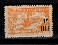 Algerie - Variete Colis Postaux N** Luxe YV 189A Sans Surcharge Contrôle - Paquetes Postales