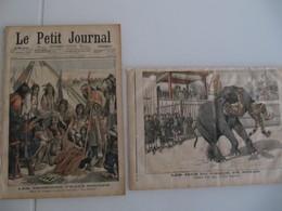 """9 Oct 1904 """"Le Petit Journal"""" N°725 2 Illustrations : Les Derniers Peaux-Rouges & Jeux Du Cirque En Annam - Le Petit Journal"""