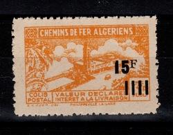 Algerie - Variete Colis Postaux N** Luxe YV 194 Sans Surcharge Contrôle - Paquetes Postales