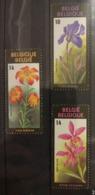 Belgium 1990. Cattleya, Iris, Lilium. Stamp Set. MNH - Orchidee