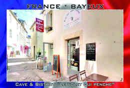 Carte Postale, REPRODUCTION, Bayeux, Restaurants (set=24pcs.), Calvados, France - Hotels & Restaurants