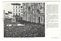 3511 - FIRENZE IL CARRO DEL SABATO SANTO 1920 CIRCA - Firenze