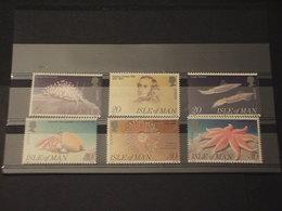 MAN - 1994 EUROPA/FAUNA MARINA 6 VALORI - NUOVI(++) - Isola Di Man