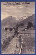 Saas-Fee - Ankunft Der Post (br8690) - VS Valais