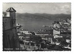 3519 - PORTOFERRAIO LIVORNO ISOLA D' ELBA PANORAMA DAL FORTE STELLA 1952 - Italia