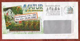Infopost, Schloss Rastatt, Absenderstempel Sieger Natur In Miniatur Lorch 302, 1995 (91087) - [7] República Federal
