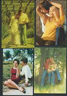 Lot 24 Postcards - Couples ( 12 Scans ) - Paare
