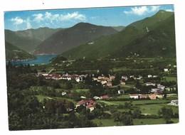 3524 - BISUSCHIO PANORAMA CON VISTA DEL LAGO DI LUGANO VARESE 1960 - Altre Città