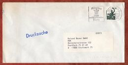 Drucksache, Bavaria Muenchen, MS Bier, Nach Stuttgart 1990 (91089) - [7] República Federal