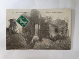 CPA - 704- JURA PITTORESQUE- RUINES DU CHATREAU DE PRESILLY- - France
