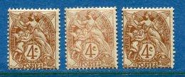 France - YT N° 110 - Neuf Avec Et Sans Charnière - 1900 à 1924 - Francia