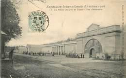 AMIENS EXPOSITION INTERNATIONALE 1906 LE PALAIS DES FILS ET TISSUS VUE ENSEMBLE - Amiens