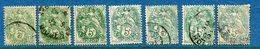 France - YT N° 111 - Neuf Avec Et Sans Charnière Et Oblitéré - 1900 à 1924 - Francia