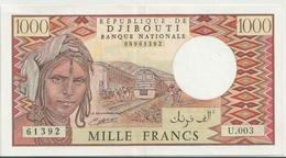 DJIBOUTI P. 37d 1000 F 1985 AUNC - Djibouti