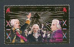 258 - COMORES 1989 - Mi 906 (Or) - Revolution Francaise Philex - Neuf ** (MNH) Sans Trace De Charniere - Komoren (1975-...)