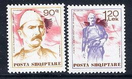 ALBANIA 1991 Boletini MNH / **.  Michel 2462-63 - Albanien