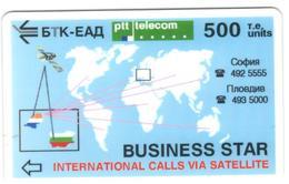 BULGARIA - BTC - Business Star 500, Blue Only 1510ex - Bulgaria