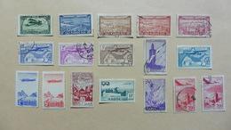 Afrique > Maroc :Poste Aérienne  :17 Timbres Oblitérés - Maroc (1956-...)