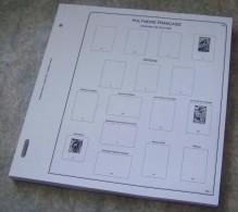 Feuilles Album POLYNESIE FRANÇAISE 1° Partie (1859-2002) (56 Feuilles) Avec Page De Garde - Albums & Reliures