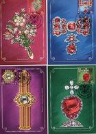 Russia 2020 Set 4 MC Maximum Card Treasures Of Russia. 100 Years Of The Gokhran Of Russia Gems - Musei