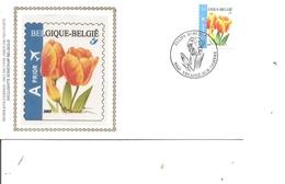 Belgique - Fleurs - Buzin ( FDC Sur Soie De 2005 à Voir) - FDC