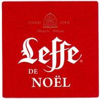 Leffe De Noël. Anno 1240. Abbaye De Leffe. France. - Sous-bocks