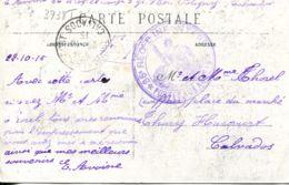 N°3738 T -cachet 86è Régiment D'infanterie -postes Aux Armées- - Poststempel (Briefe)