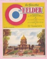 Buvard Biscottes HELDER Hotel Des Invalides 19 - Biscottes