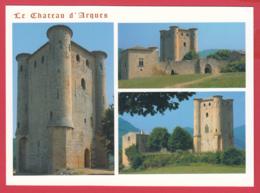 CPM-11-ARQUES - Château D'ARQUES - Multivues Entrée Du Donjon, Chef D'oeuvre De L'Art Gothique** 2 SCAN- - Francia