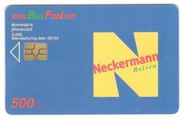 BULGARIA - Bulfon - Neckerman 500 Units 5000ex - Bulgaria