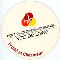 Saint-Nicolas-de-Bourgueil. Vins De Loire. Fruité Et Charmeur. France. - Sous-bocks