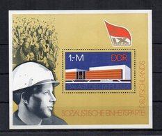 Germania - DDR - 1976 - Blocco Foglietto - Partito Socialista - Nuovo - (FDC20050) - [6] Oost-Duitsland