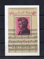 Germania - DDR - 1981 - Blocco Foglietto - 225° Anniversario Della Nascita Di W.A. Mozart - Nuovo - (FDC20051) - [6] Oost-Duitsland