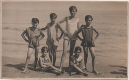 Fotografia Cm. 8,2 X 13,5. Retro: Igea Marina (Rimini) Agosto 1927 - Lieux
