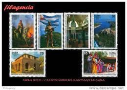 CUBA MINT. 2015-22 V CENTENARIO DE LA CIUDAD DE SANTIAGO DE CUBA - Cuba