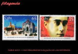 CUBA MINT. 2015-24 V CENTENARIO DE LA CIUDAD DE SAN JUAN DE LOS REMEDIOS - Cuba