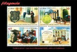 CUBA MINT. 2015-17 160 AÑOS DEL PRIMER SELLO CUBANO - Cuba