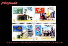 CUBA MINT. 2005-21 CINCUENTENARIO DE LAS EMISIONES EUROPA CEPT. VERSIÓN DENTADA - Cuba