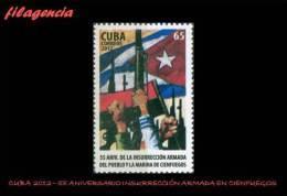 CUBA MINT. 2012-20 55 ANIVERSARIO DE LA INSURRECCIÓN ARMADA DE LA CIUDAD DE CIENFUEGOS - Cuba