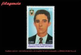 CUBA MINT. 2015-07 55 AÑOS MUERTE DEL PRIMER AGENTE DE LA SEGURIDAD CUBANA MANUEL LÓPEZ PORTILLA - Cuba