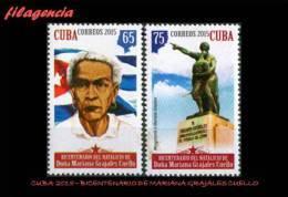 CUBA MINT. 2015-21 BICENTENARIO DE MARIANA GRAJALES CUELLO - Cuba