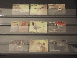 GRENADA - 1998 UCCELLI 9 VALORI - NUOVI(++) - Grenada (1974-...)