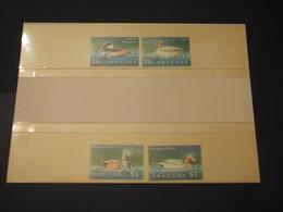 GRENADA - 1995 UCCELLI 4 VALORI - NUOVI(++) - Grenada (1974-...)