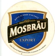 Mosbräu. Export. Prestige. Bière Blonde D'Alsace. France. - Sous-bocks