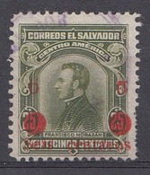 El Salvador 1924  Mi.nr: 416  Mit Aufdruck  Oblitérés - Used - Gebruikt - Salvador